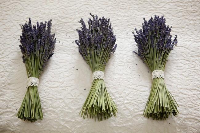 Lavender Bridesmaids Bouquets DIY