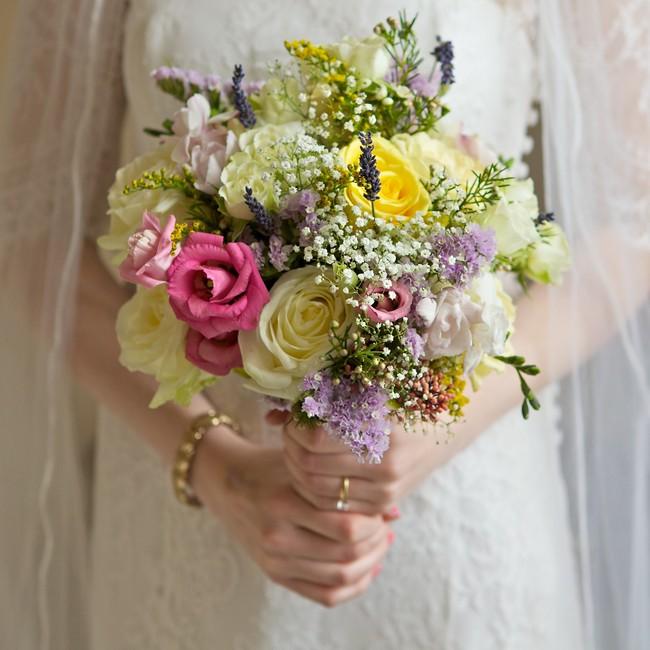 DIY Wild Flower Bouquet Wedding