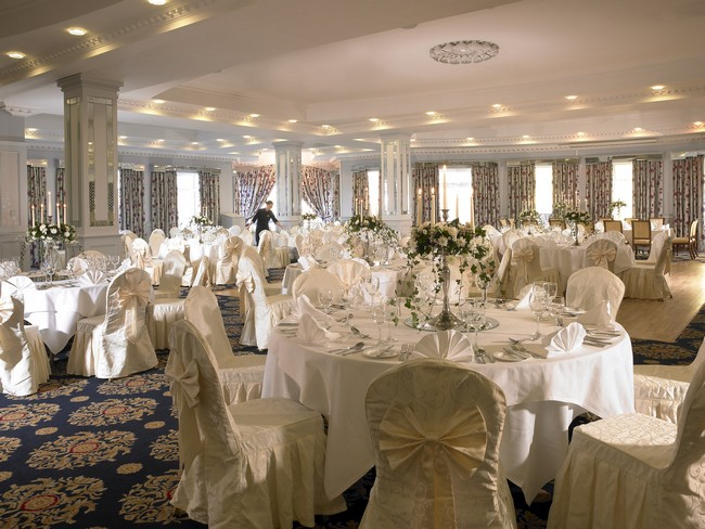 wedding reception room dromhall hotel kerry