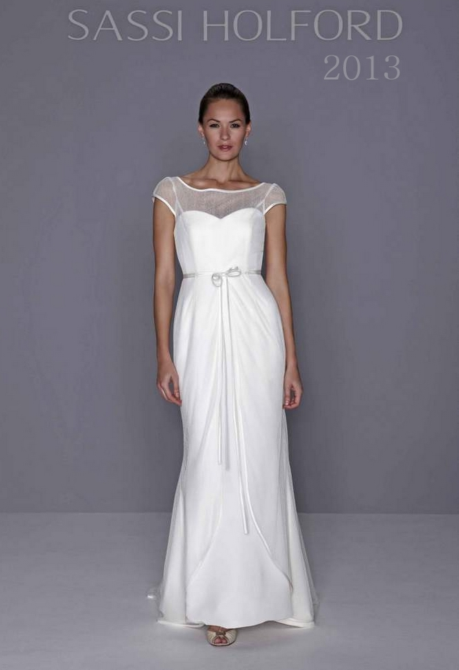 Sassi holford 2013 collection romance of the golden age for Wedding dresses women over 40