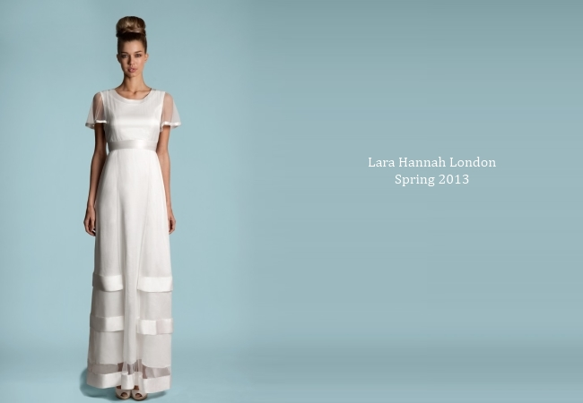 Lara Hannah Spring 2013 - Vintage Glamour for a Style Savvy Bride ...