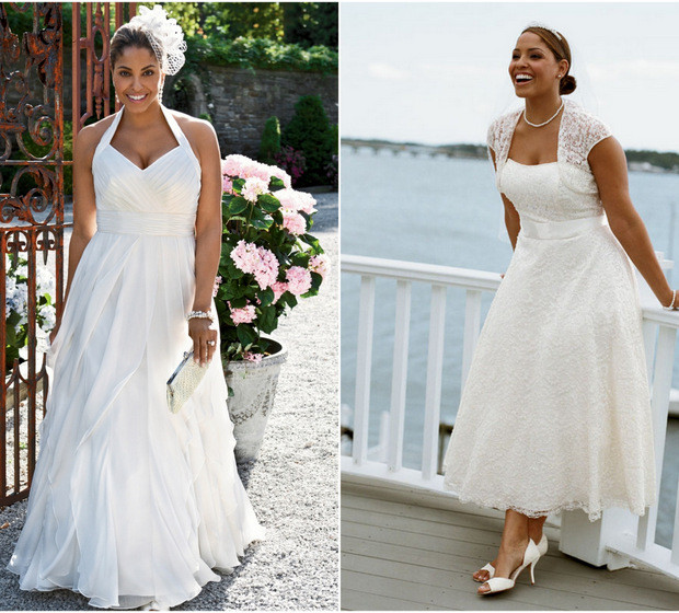 Wedding Gowns For Full Figured Brides: 2012 Picks For The Full Figure