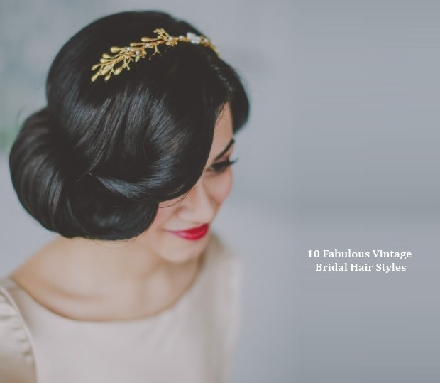 1920s Hairstyles For Long Hair With Headband 10 vintage wedding hair ...