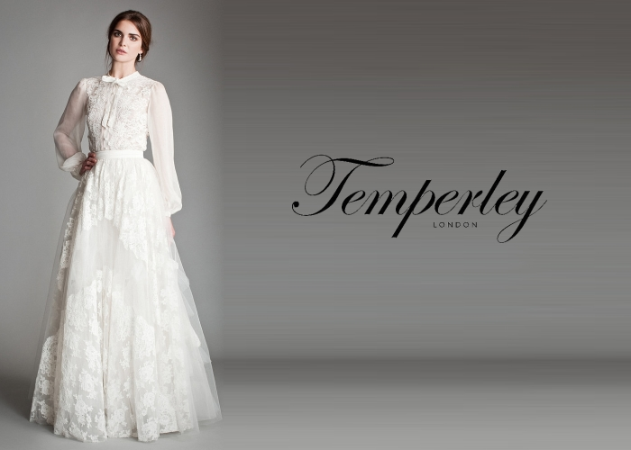 Bridal Fashion Week Temperley 2013 2014 Titania