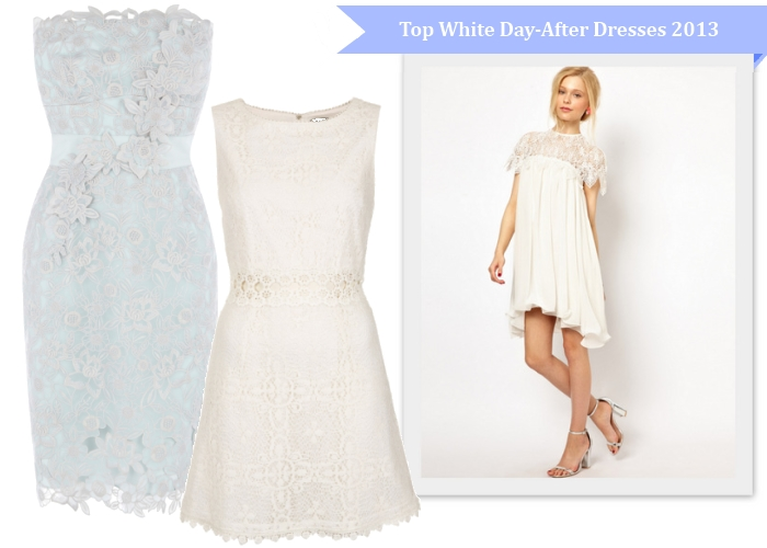 Best white day after dresses for spring summer 2013 brides for White dress after wedding