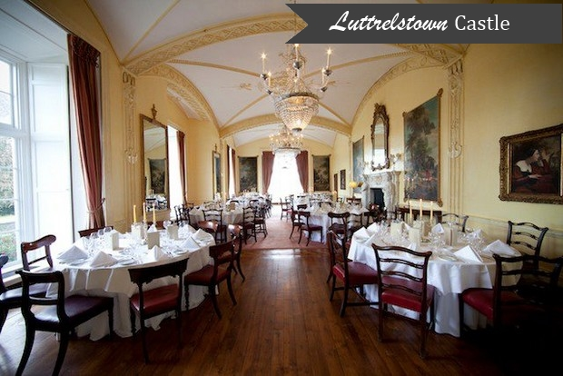 Luttrelstown Castle Dining Room