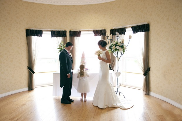 real wedding glasson counry house hotel