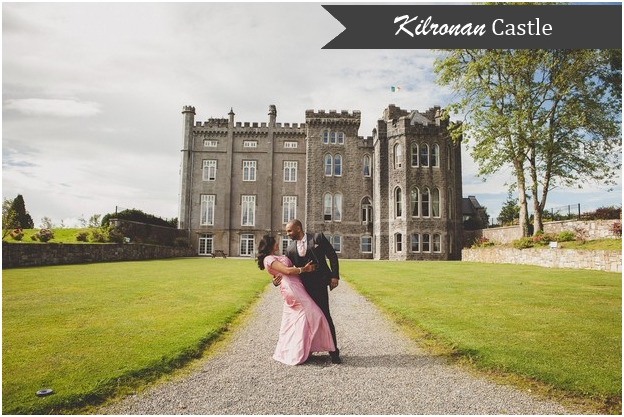 The Striking Maroon And White Tipped Exterior Of Fitzpatrick Castle Is Balanced With A Traditional Interior Where Wedding Guests Can Wander Around Taking