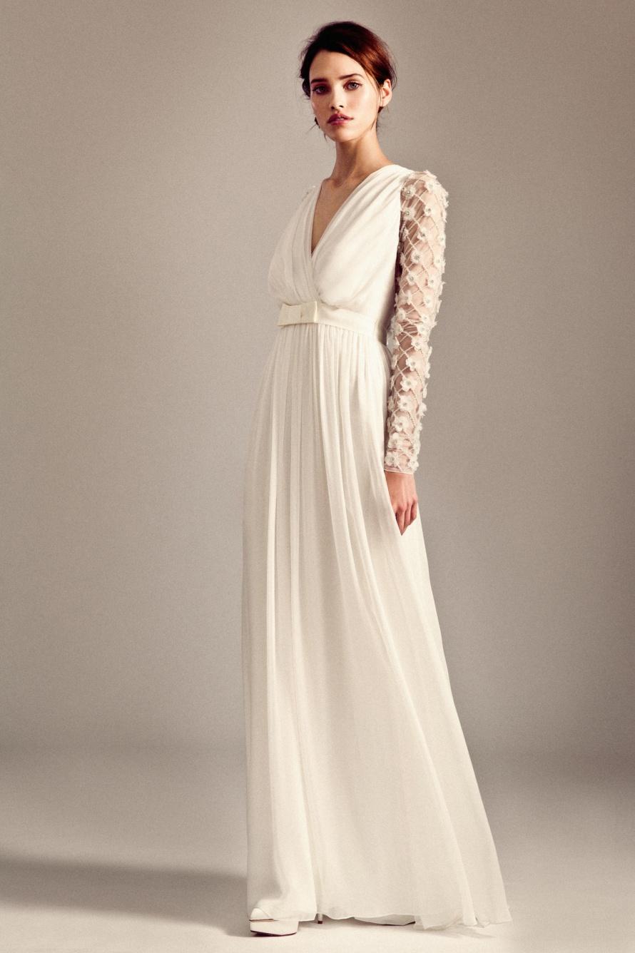6e4585fc1c32 Temperley Bridal 2014 Iris Collection | weddingsonline