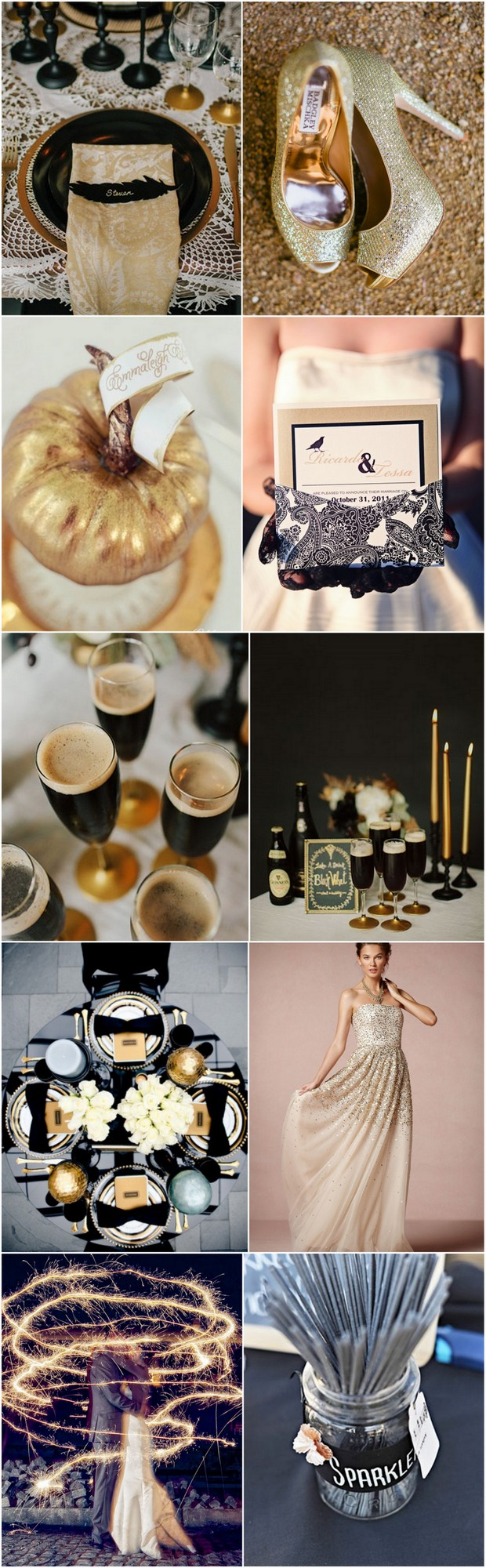 black-gold-halloween-wedding_moodboard
