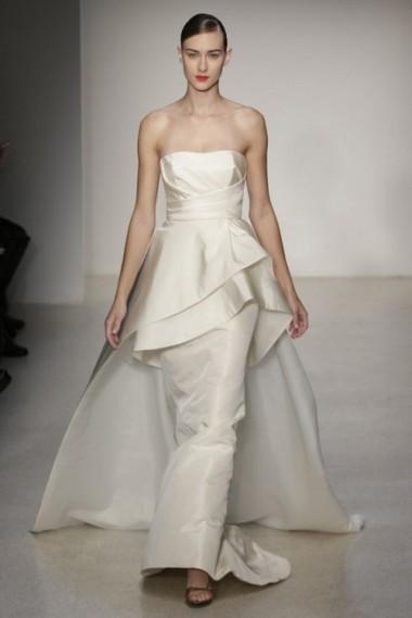 ff840e2a844 Wedding Trend 2014  12 Pretty Peplum Style Wedding Dresses ...