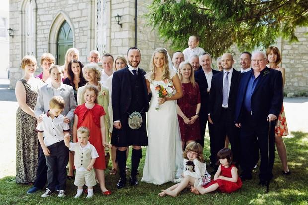full wedding guest photo