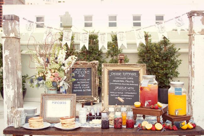 Famous Bridal Shower Brunch Menu: 8 Amazing Wedding Buffet Ideas