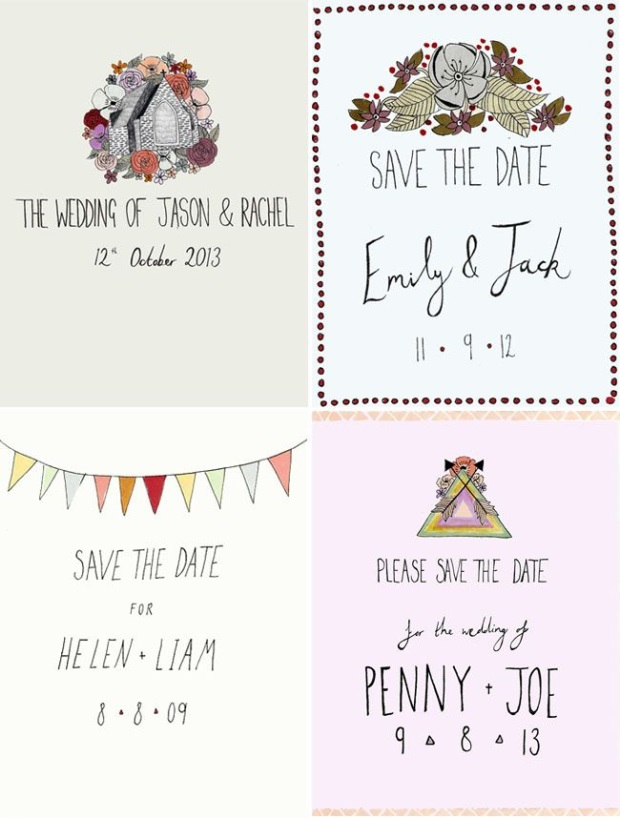 Wedding Stationery - 13 Pretty Illustrated Invitations ...