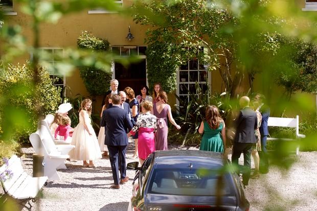 wedding at Ballinacurra House Kinsale