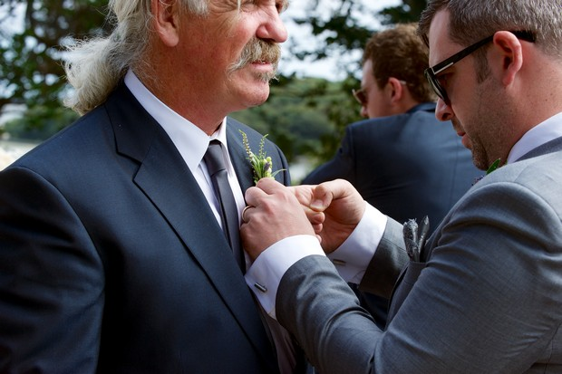 father of the bride boutonnaire