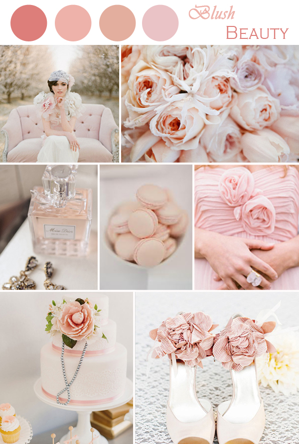 Wedding Trends 2014 Radiant Orchid Blush Tones And All Things