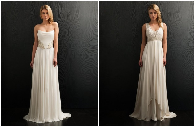 Amanda Wakeley Sposa Delivers The Ultimate In Elegant, Sophisticated Gowns  For The Fashion Forward Bride. With A Signature Style That Is Part Clean  And ...