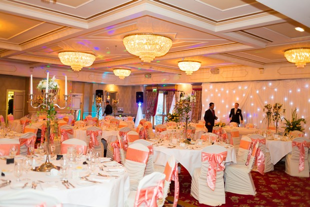 Wedding Reception Room Fitzpatrick Castle Hotel One Sunny Day In September Real By Monica Hadarean