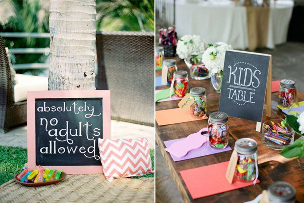10 Cute Ideas For Kids At Weddings