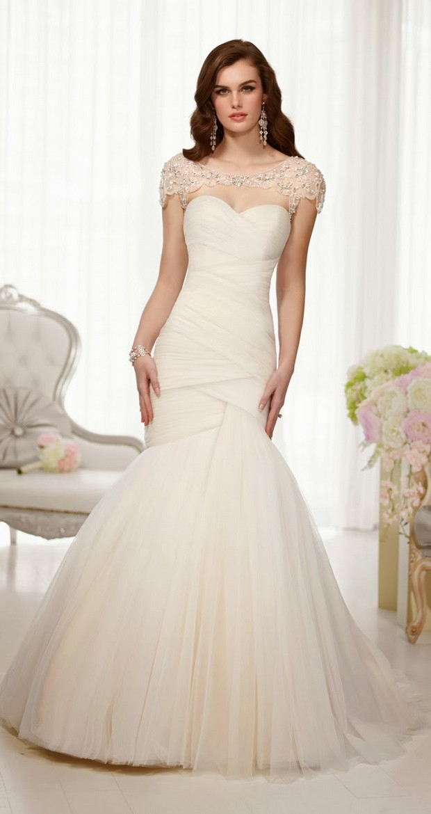 The elegant essense of australia 2014 wedding dress for Essence australia wedding dresses