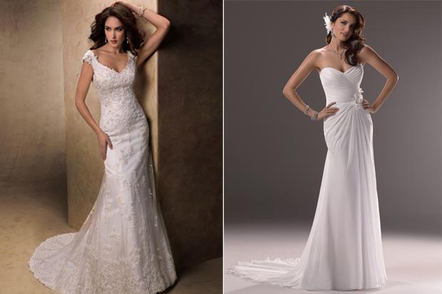 Designer sample wedding dresses for sale online for Sample sale wedding dress