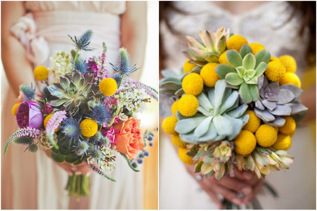 Yellow Wedding Flowers Online : Wedding bouquets fabulous floral trends for