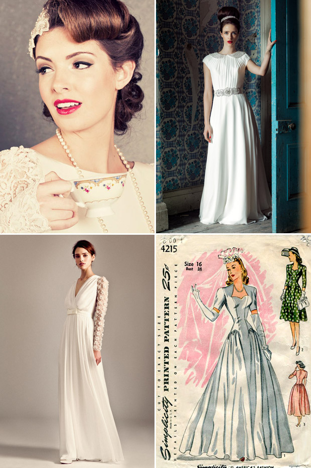 Your Guide To Vintage 1940s 1950s Weddingsonline