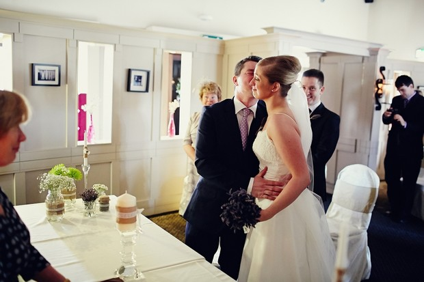 bride-groom-meet-kiss-wedding-ceremony