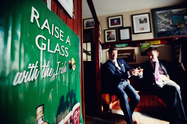 groom-real-wedding-irish-pub