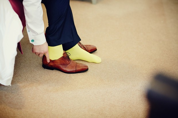 groom-wedding-style-yellow-socks