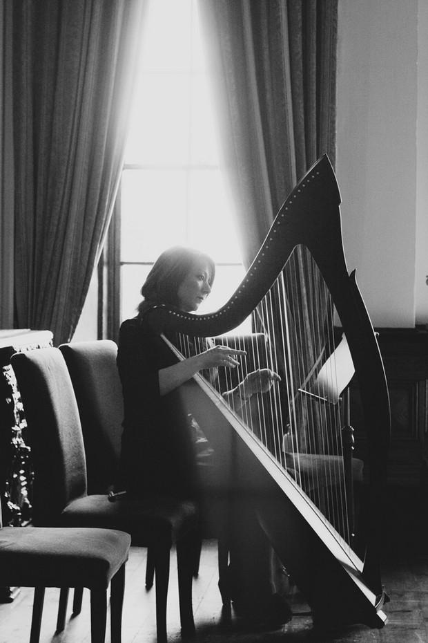 harpist wedding reception music ireland