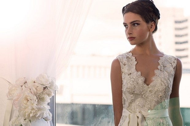Designer To Watch Sarah Janks Forget Me Not Wedding Dress Collection