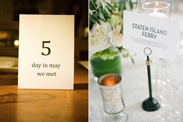 Wedding Table Number Ideas. Wedding Table Decorations. Wedding ...