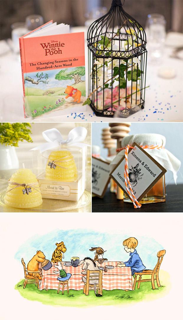 Winnie The Pooh Wedding Book Themed 5 Splendid Ideas Weddingsonline