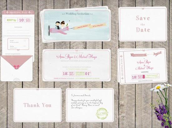 bi-plane-couple-thank-you-card