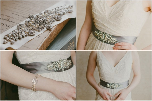 10 Beautiful Bridal Sashes & Belts To Make Your Dress