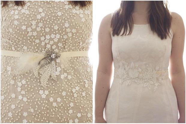 Unique Wedding Dress Sashes Belts: 10 Beautiful Bridal Sashes & Belts To Make Your Dress