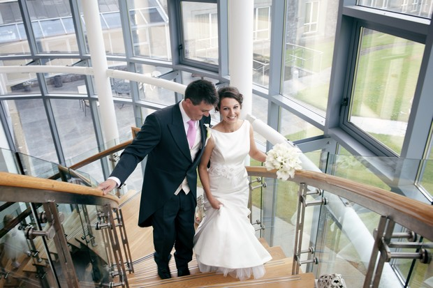 glasson-hotel-wedding-staircase-couple-photography-16