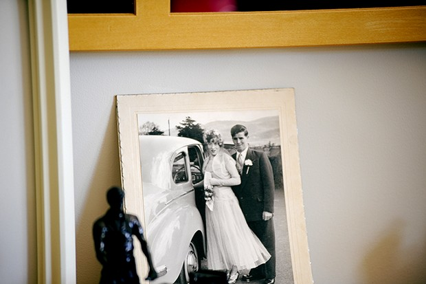 image of old family wedding photo