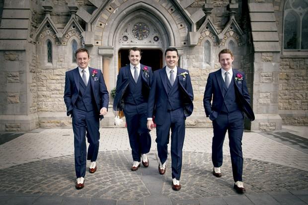 20s style groomsmen