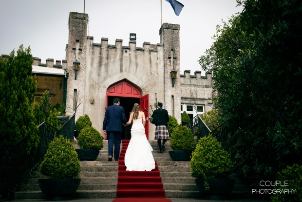 wedding at cabra castle