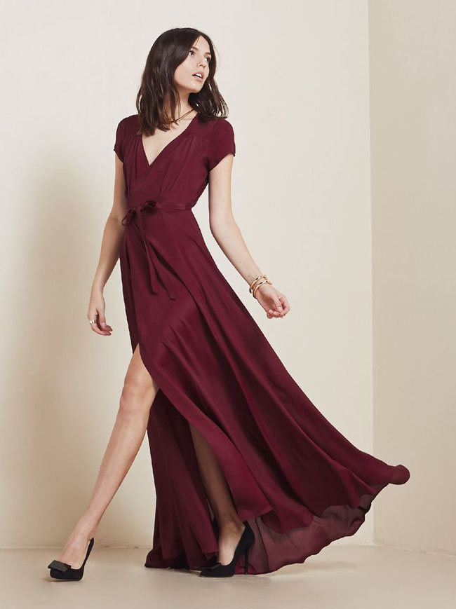 burgunday-wrap-bridesmaid-dress