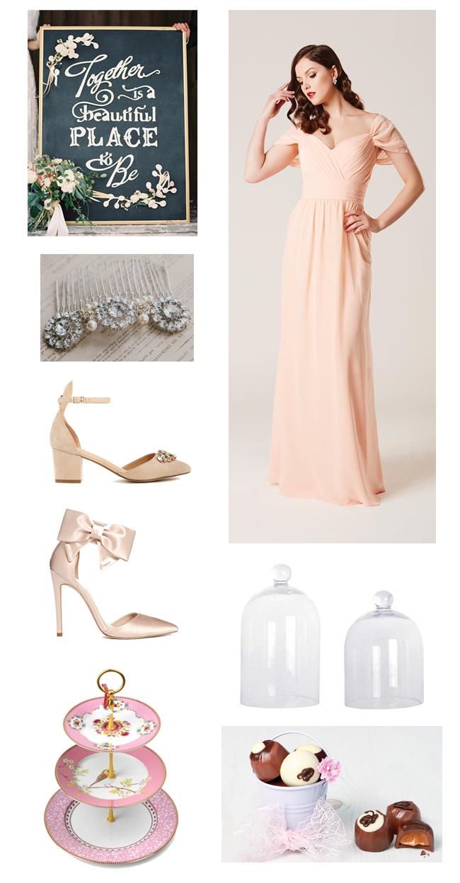 pretty-peach-girly-wedding-inspiration