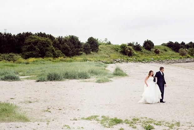bride groom beach wedding dublin