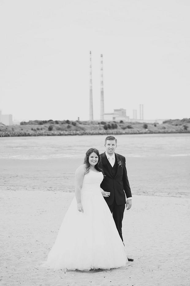 dublin landmark wedding photo chimneys