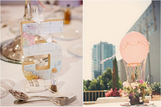 Dreamy Destination Travel Themed Wedding Inspiration