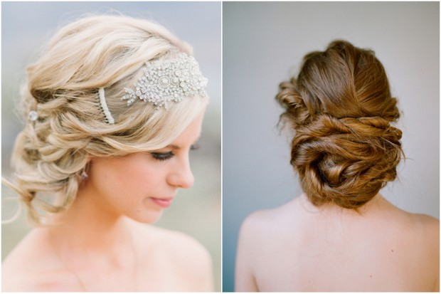 Romantic Bridal Up Dos Top Wedding Hairstyles - Wedding hairstyle upstyle