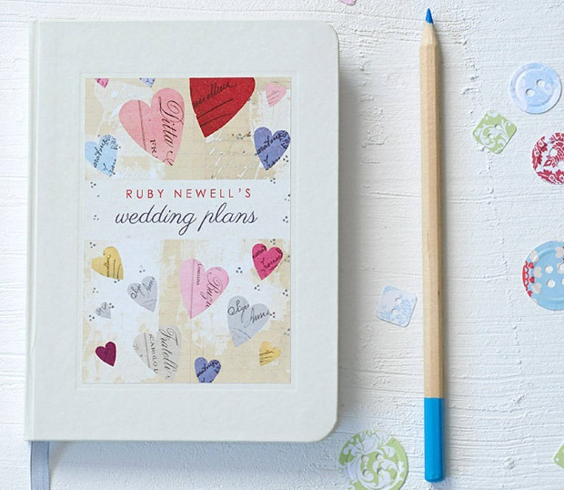 Engagement Gift Wedding Planner : wedding-planner-notebook-engagement-gift