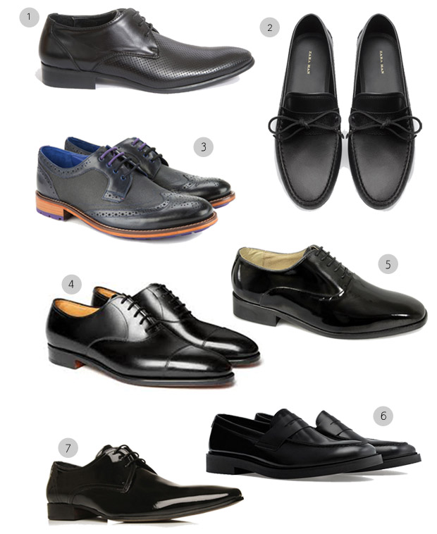 Black Wedding Shoes Groom